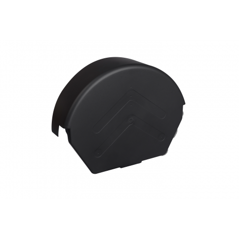 Dry Verge Ridge Cap Round Black