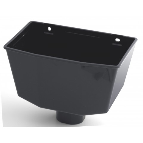 Universal Downpipe Hopper Dark Grey RAL 7016