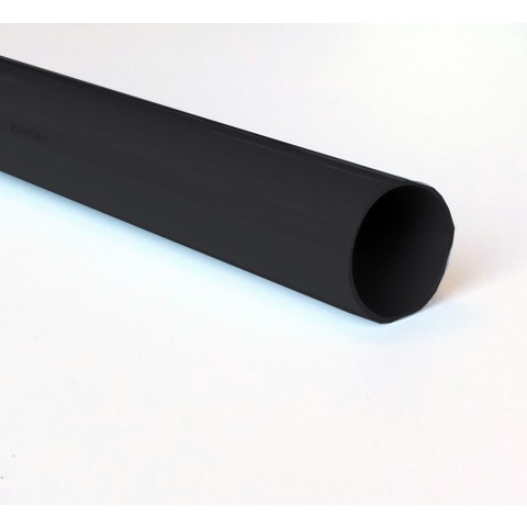 68mm Round Downpipe Dark Grey RAL 7016