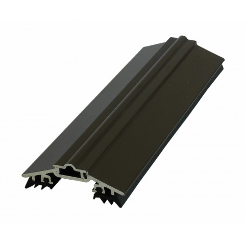Aluminium Capped Glazing Bar 50mm