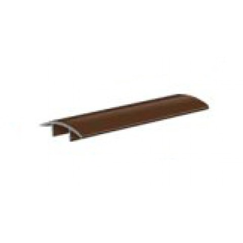 Alu Ridge Snap Cover 3m Brown