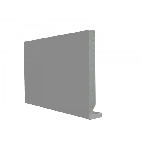 16mm Square Leg Replacement Fascia Gloss Mid Grey RAL 7046
