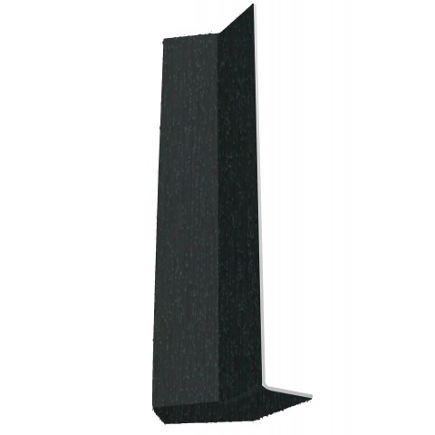 Square Corner 135? Internal 300mm Black Ash