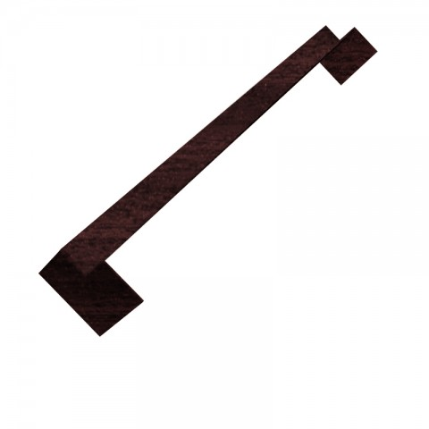 Square Internal Double Ended Corner 500mm (Mahogany)