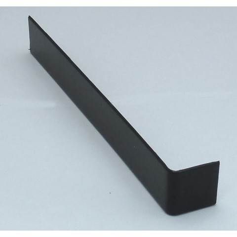 Double Ended Joint Square Fascia 600mm Gloss Black