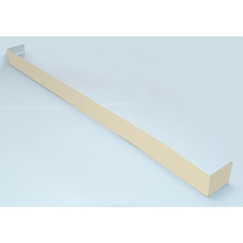 Double Ended Joint Square Fascia 600mm Cream