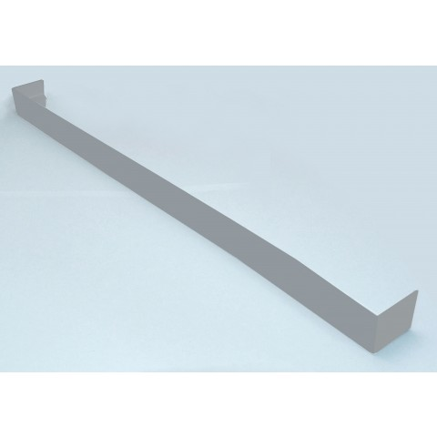 Double Ended Joint Square Fascia 500mm Gloss Light Grey