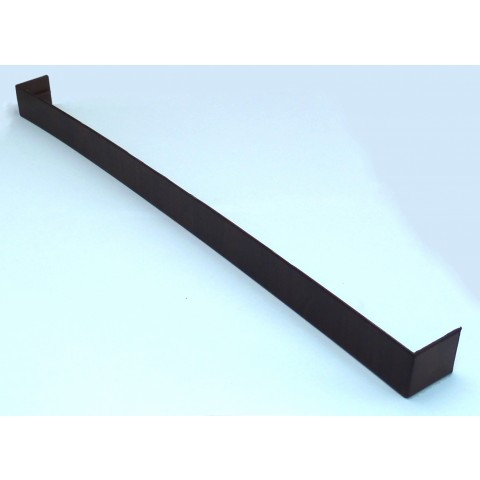 Square Fascia Joint 500mm D/E Mahogany