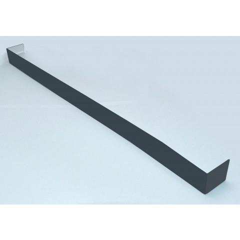 Double Ended Joint Square Fascia 450mm Smooth Dark Grey RAL7016