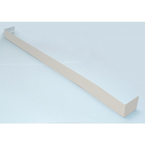 Double Ended Joint Square Fascia 500mm White Ash Woodgrain
