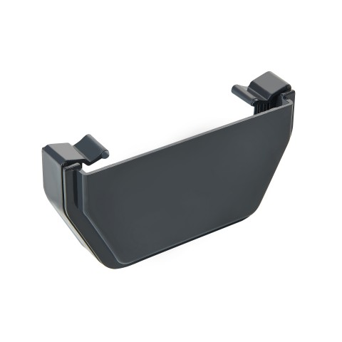 External Stopend 117mm Square (Anthracite Grey/Dark Grey)