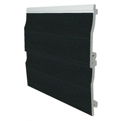 150mm x 5m Shiplap Cladding Black Ash