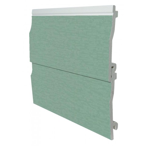 150mm x 5m Shiplap Cladding Chartwell Green