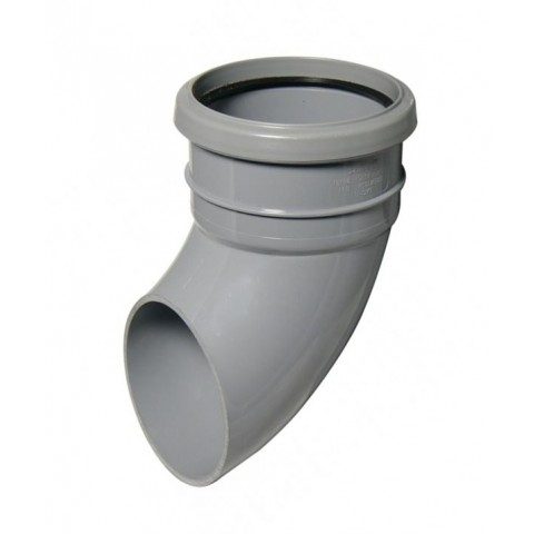 Industrial Gutter 112.5 Downpipe Shoe Grey