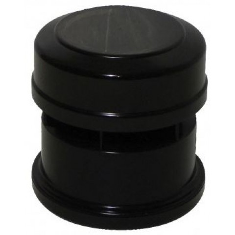 110mm Soil Pipe Air Admittance Valve Black
