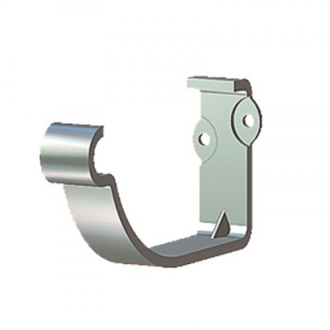 125mm Steel Half Round Concealed Fix Fascia Bracket Galvanised