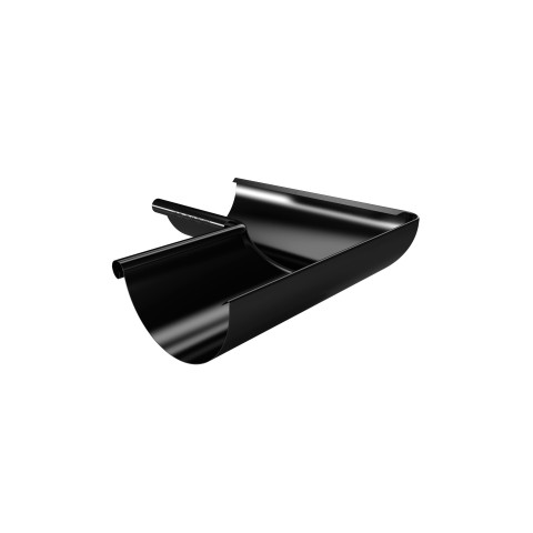 Internal 135 Deg Corner for 125mm Steel Gutter Black