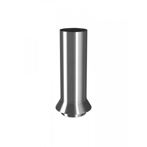 Rainwater Connector for 87mm Steel Downpipe (Galvanised)