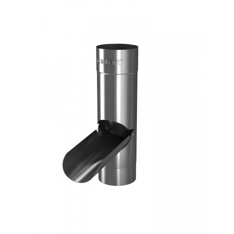 Rainwater Diverter for 87mm Steel Pipe Galvanised
