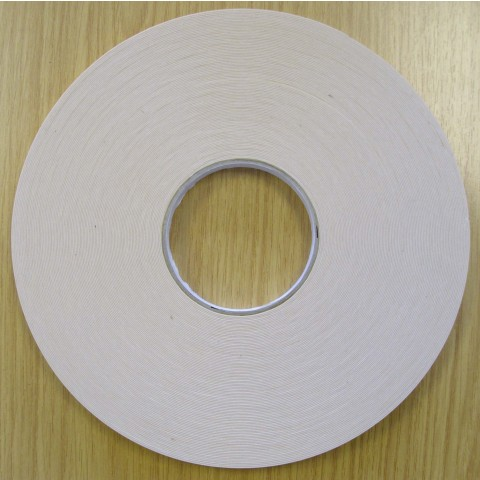 Trim Mounting Tape 1 x 10mm x 50m White