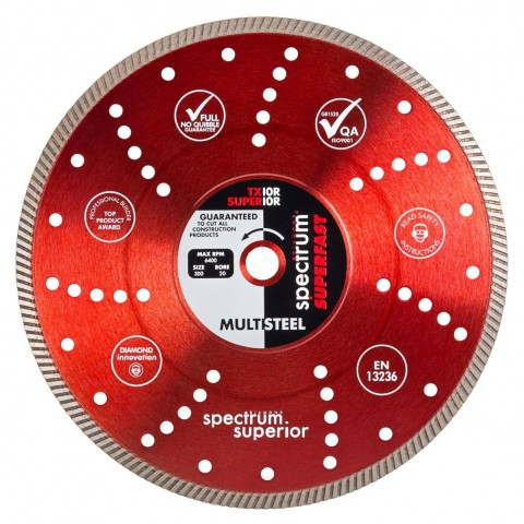 "Spectrum Diamond Blade 5"" - 125mm TX 10R"