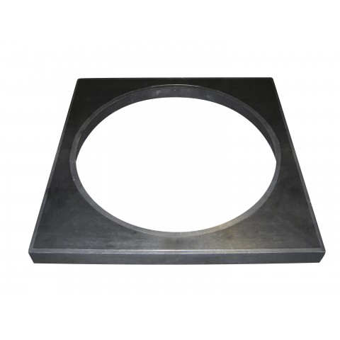 320mm Round to Square Lid Adaptor