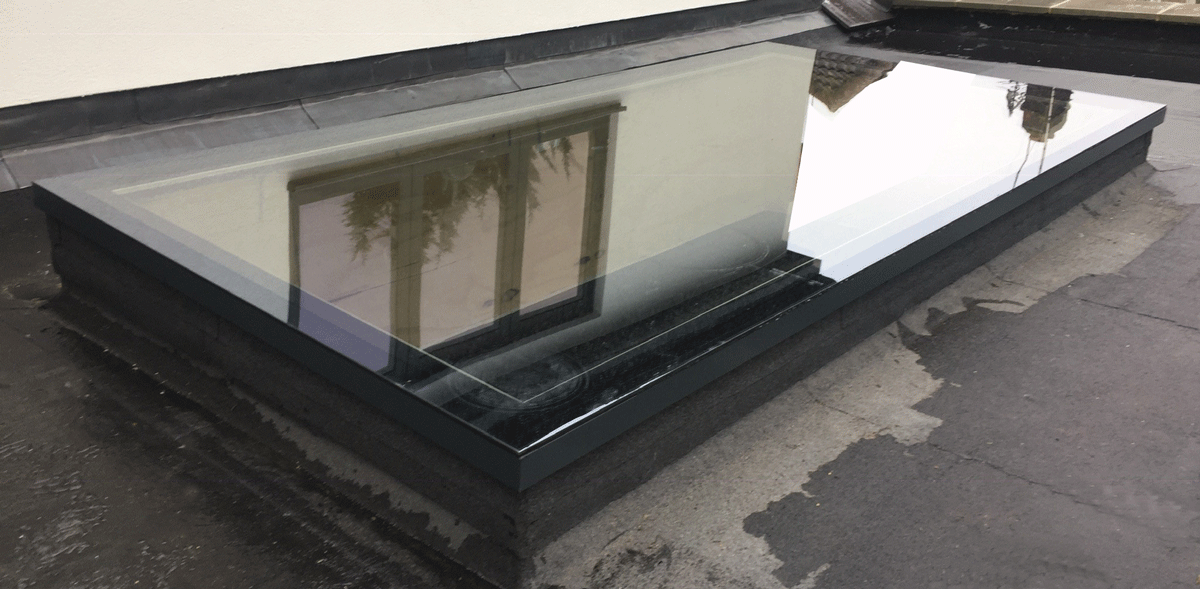 Flat Glass Rooflight