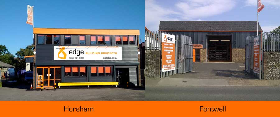 Horsham & Fontwell Branches - Edge Building Products
