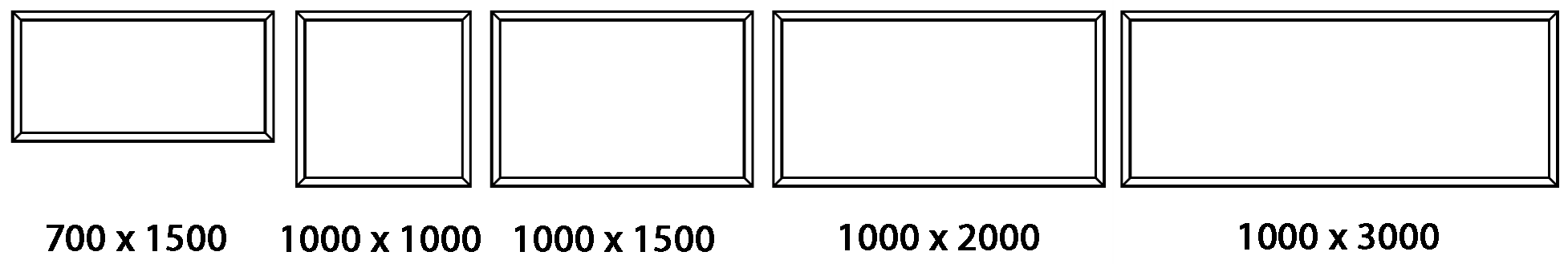 FGR Stock Sizes